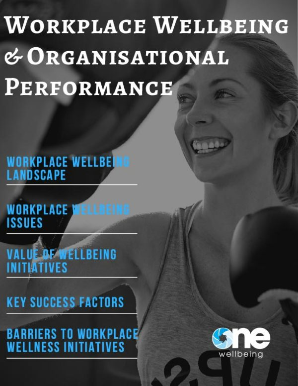 Workplace Wellbeing & Organisational Performance