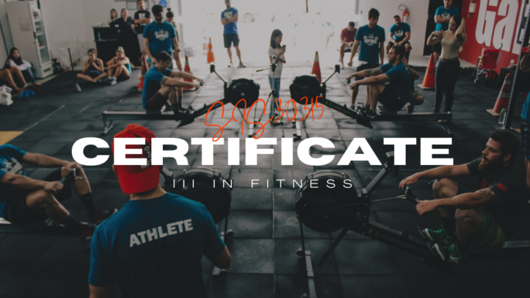 Certificate III in Fitness