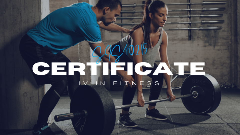 Certificate IV in Fitness